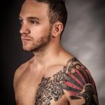 Pig skin tattoo