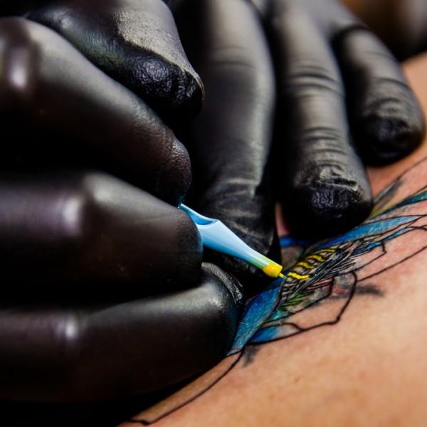 Practice Tattoo Pig Skin
